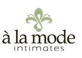 A La Mode coupons or promo codes at alamodelingerie.com