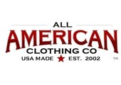 All American Clothing coupons or promo codes at allamericanclothing.com