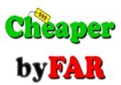 Cheaperbyfar.com coupons or promo codes at cheaperbyfar.com