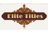elitetitles.co.uk coupons or promo codes