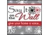 Sayitonthewall coupons or promo codes at sayitonthewall.com